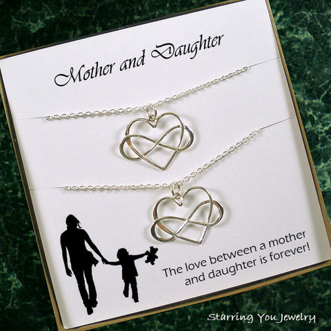 Mother Daughter Necklace, Mom Jewelry, Mother's Day Gift, Daughter Gift