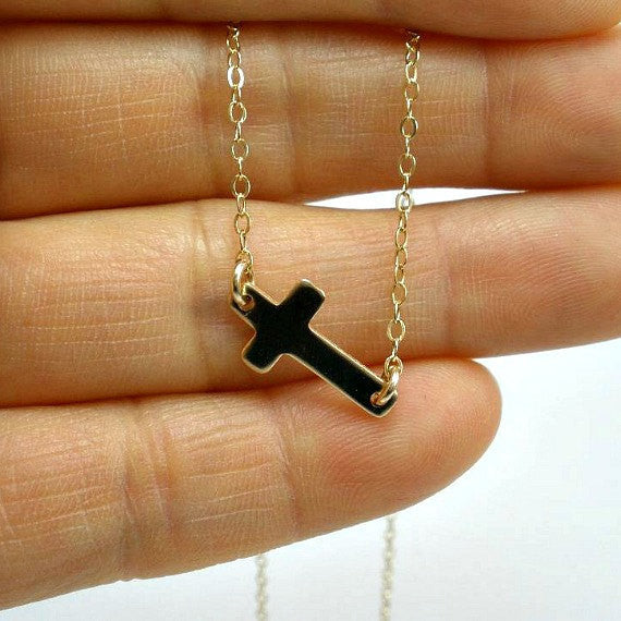First Communion, Confirmation gift, Christian Jewelry, Cross Necklace