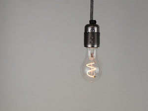 LED Vintage Filament Bulb | A19 | Spiral - Vendimia Lighting Co.