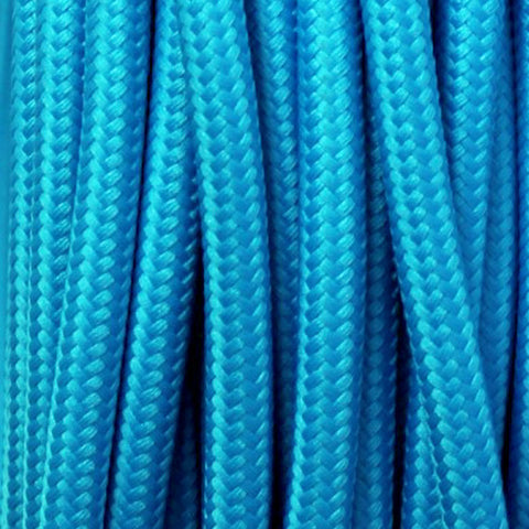 Fabric Cable | Round | Teal Blue - Vendimia Lighting Co.