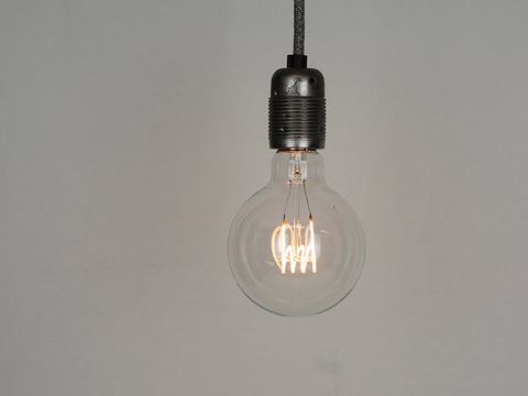 LED Vintage Filament Bulb | G95 | Quad Loop - Vendimia Lighting Co.