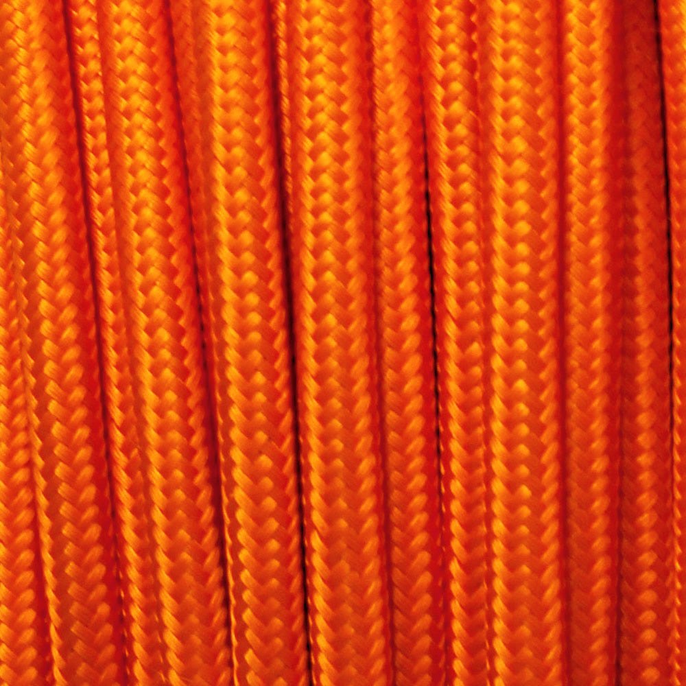 Fabric Cable | Round | Shocking Orange - Vendimia Lighting Co.