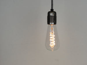 LED Vintage Filament Bulb | ST64 | Spiral - Vendimia Lighting Co.