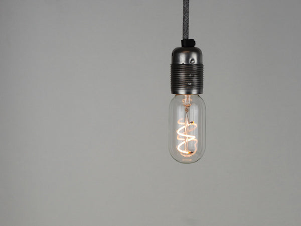 LED Vintage Filament Bulb | T45 | Spiral - Vendimia Lighting Co.