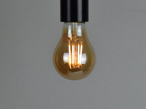 B22 LED Filament Bulb | A19 | Amber - Vendimia Lighting Co.
