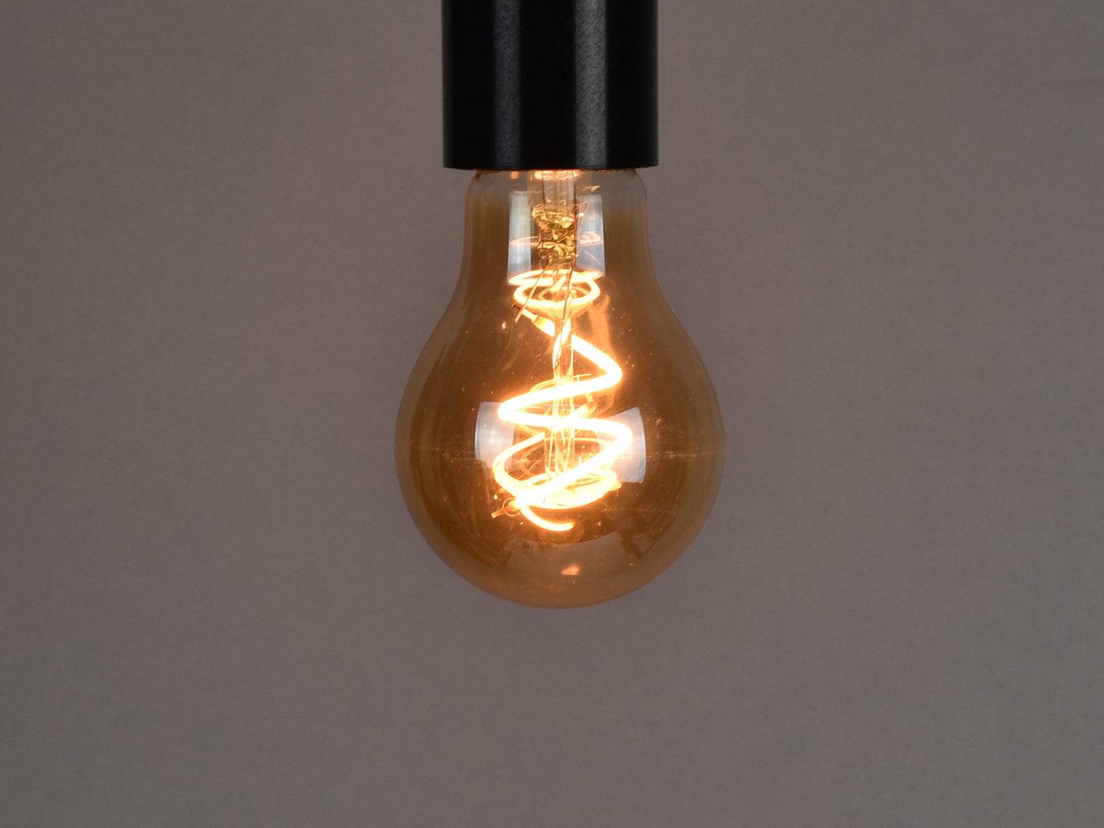 B22 LED Filament Bulb | A19 | Spiral - Vendimia Lighting Co.