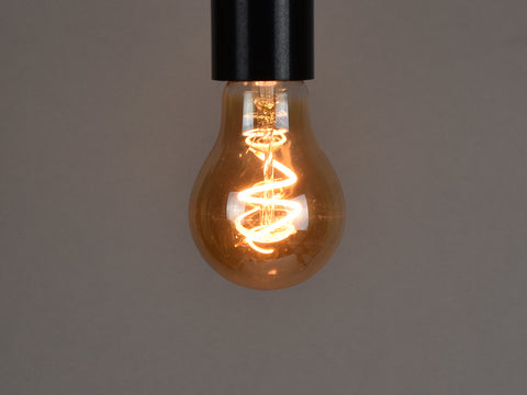 E27 LED Filament Bulb | A19 | Spiral - Vendimia Lighting Co.