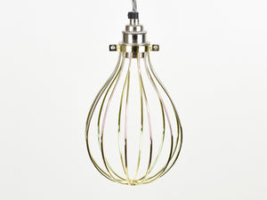 Cage Shade | Balloon | Pure Gold - Vendimia Lighting Co.