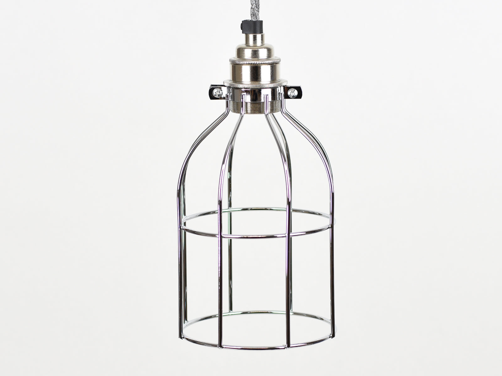 Cage Shade | Bird Cage | Polished Silver - Vendimia Lighting Co.