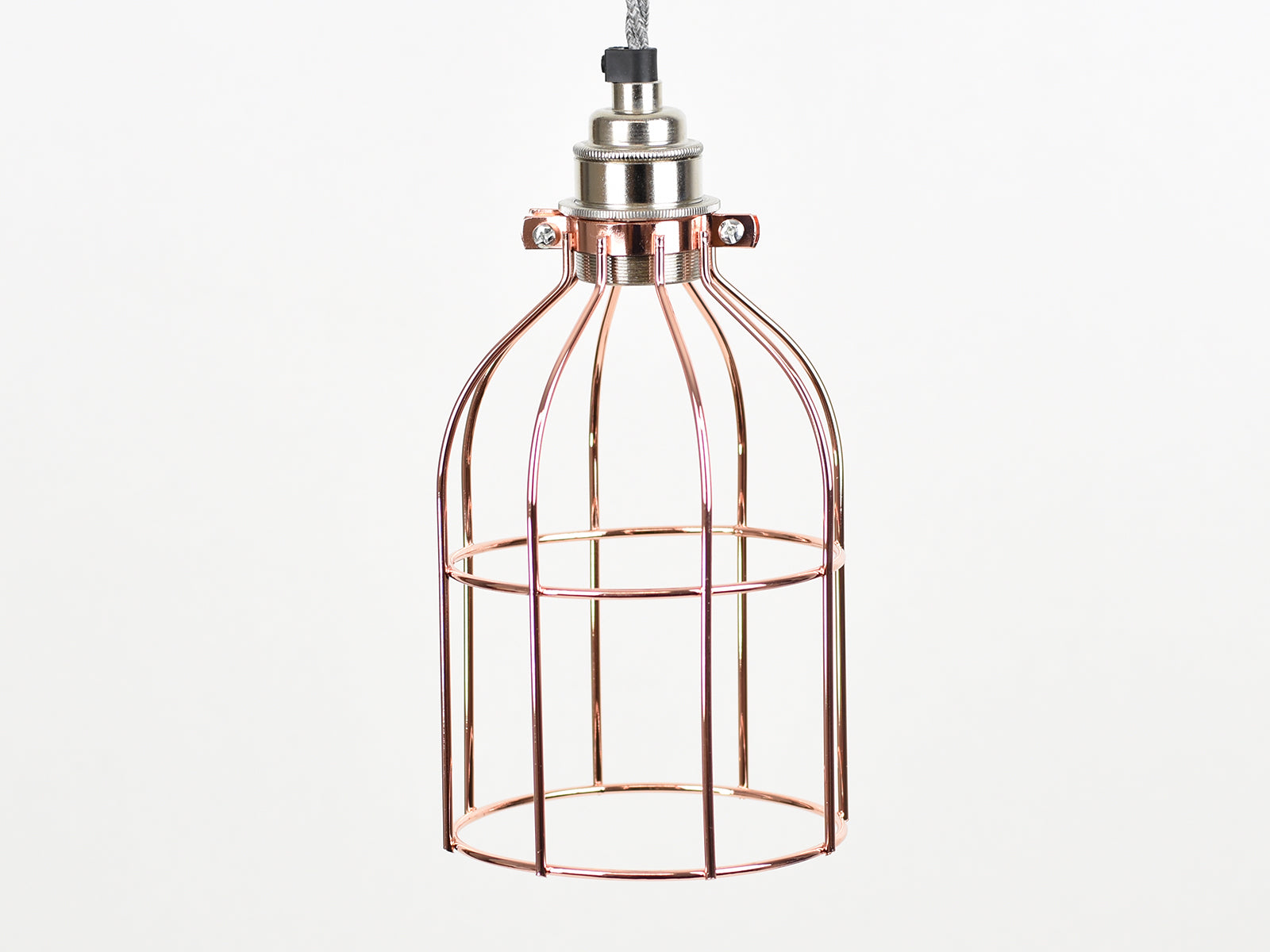 Cage Shade | Bird Cage | Polished Copper - Vendimia Lighting Co.