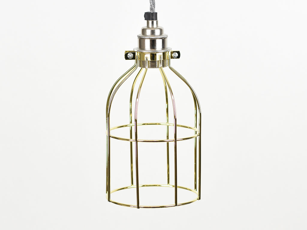 Cage Shade | Bird Cage | Pure Gold - Vendimia Lighting Co.