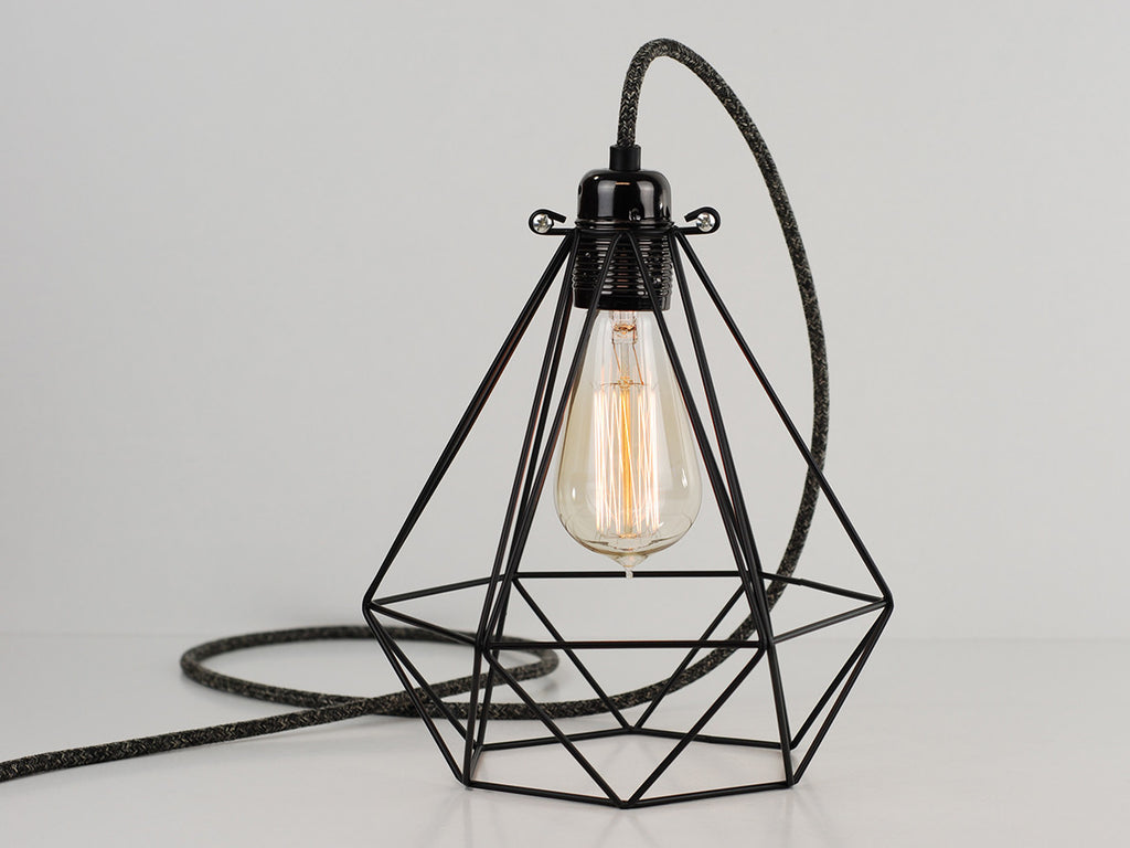 Wire Cage Desk Lamp - WIRE Center •