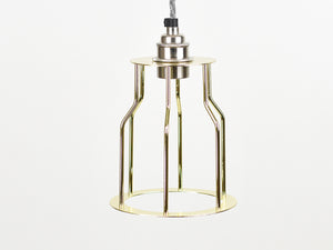 Cage Shade | Bottleneck | Pure Gold - Vendimia Lighting Co.
