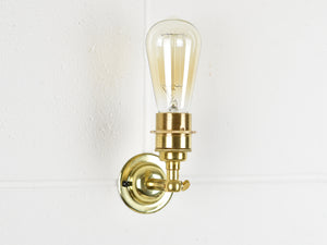 Wall Light | Brass Knuckle Joint | 4 Colours - Vendimia Lighting Co.