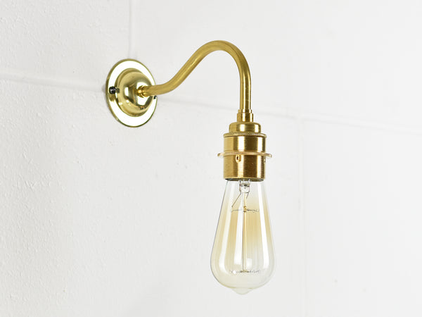 Wall Light | Swan Neck Tube | 4 Colours - Vendimia Lighting Co.