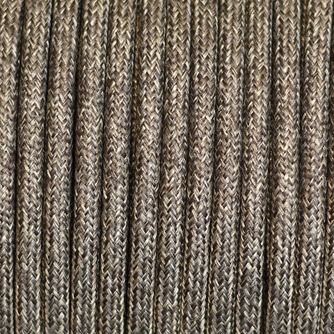 Fabric Cable | Round | Brown Tweed - Vendimia Lighting Co.