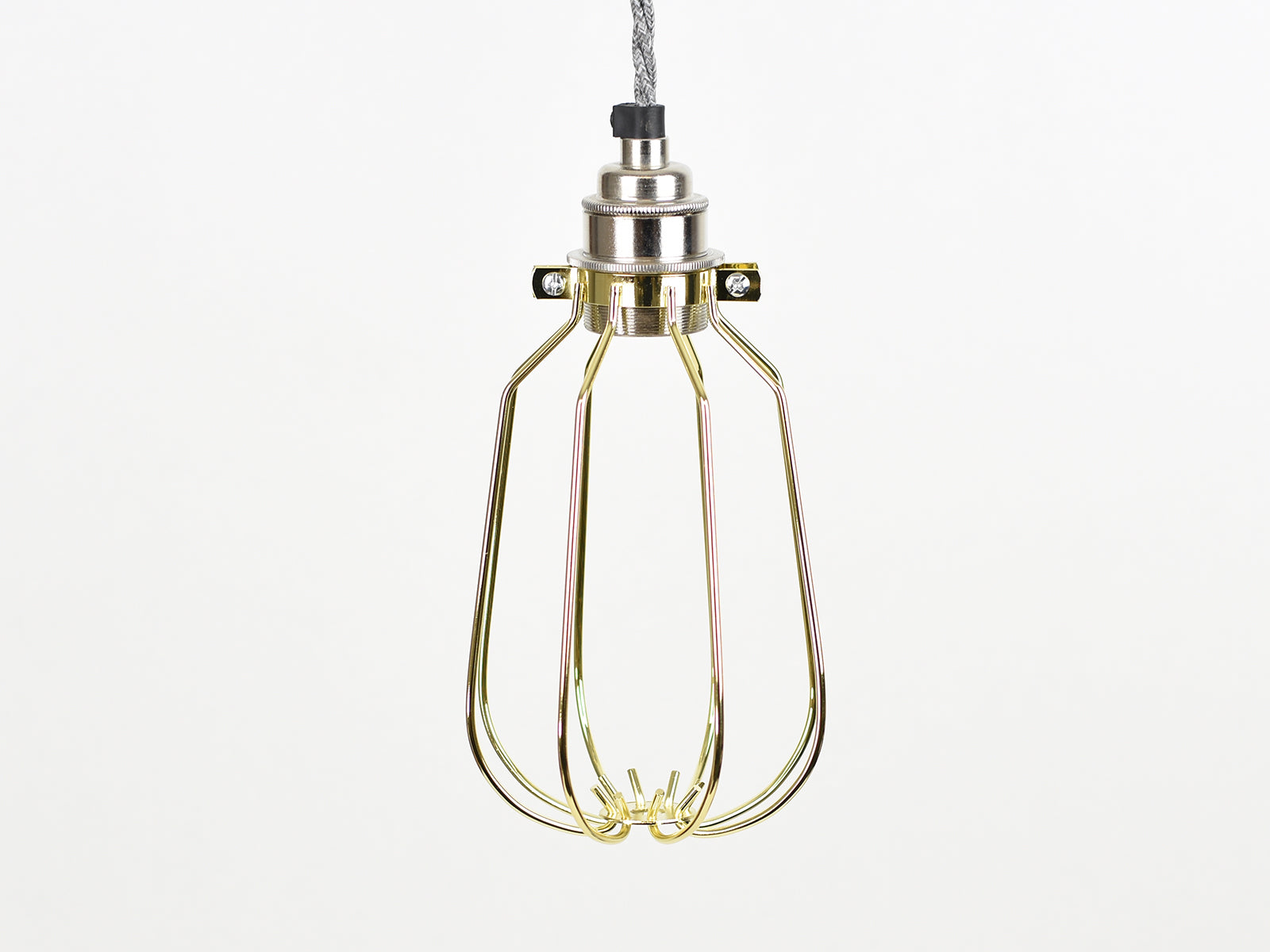Cage Shade | Drop | Pure Gold - Vendimia Lighting Co.