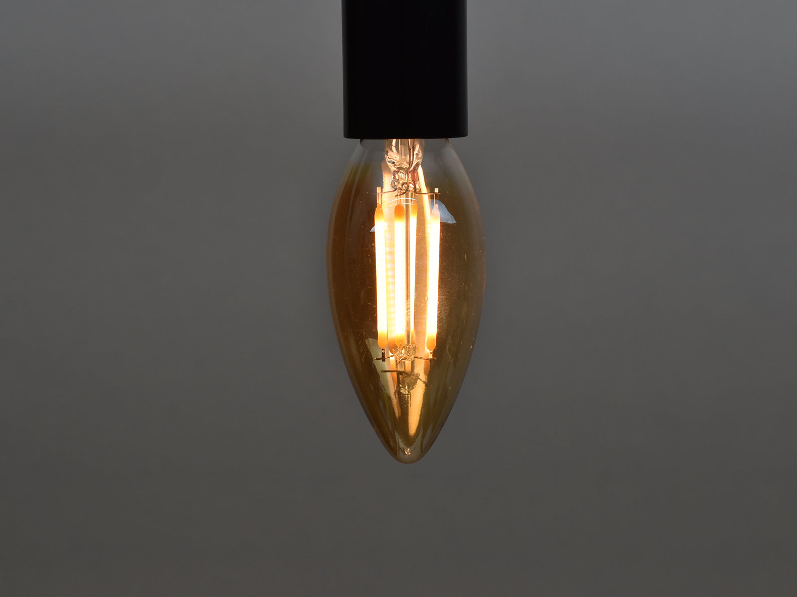 E14 LED Filament Bulb | C35 | Amber - Vendimia Lighting Co.