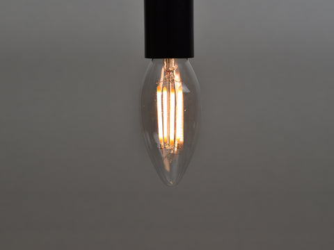 E14 LED Filament Bulb | C35 | Clear - Vendimia Lighting Co.