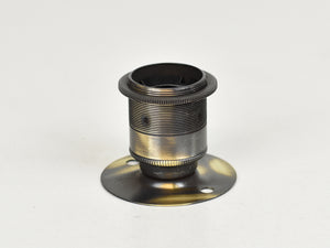 E27 ES Brass Bulb Holder | Batten Lamp Fitting | Threaded Brushed Antique - Vendimia Lighting Co.