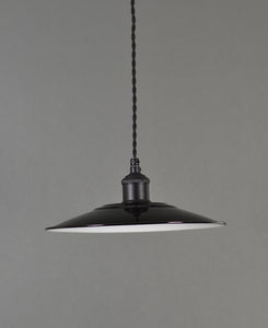 Enamel Shade | Flat | Jet Black - Vendimia Lighting Co.