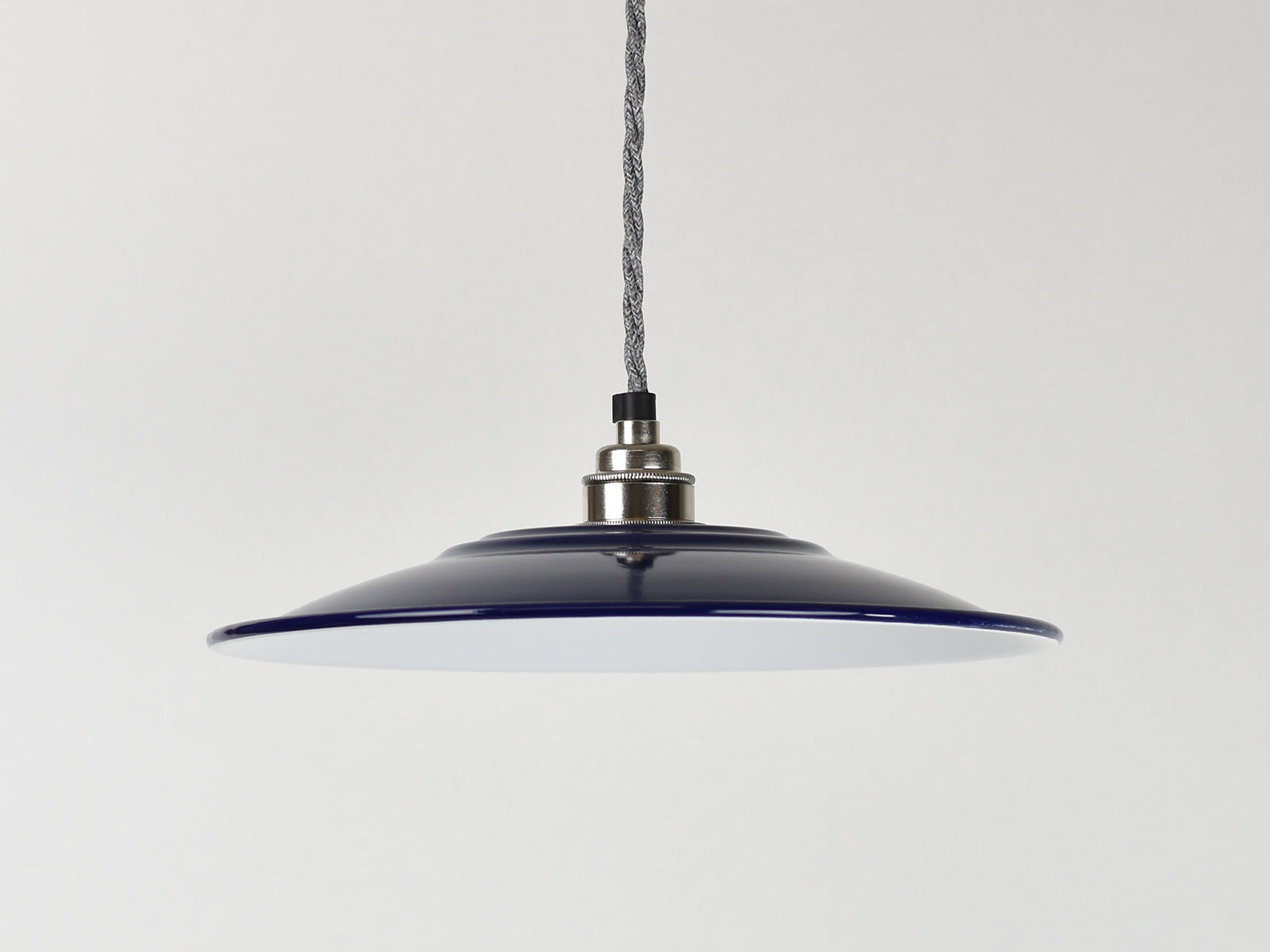 Enamel Shade | Flat | True Blue - Vendimia Lighting Co.