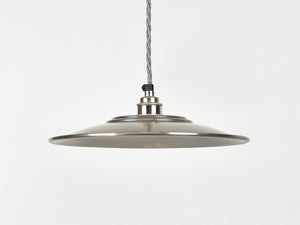 Enamel Shade | Flat | Bare Steel - Vendimia Lighting Co.