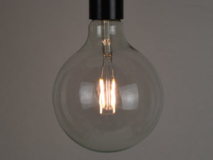 E27 LED Filament Bulb | G125 | Clear - Vendimia Lighting Co.