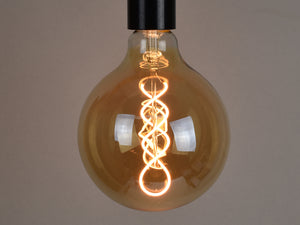 B22 LED Filament Bulb | G125 | Spiral - Vendimia Lighting Co.
