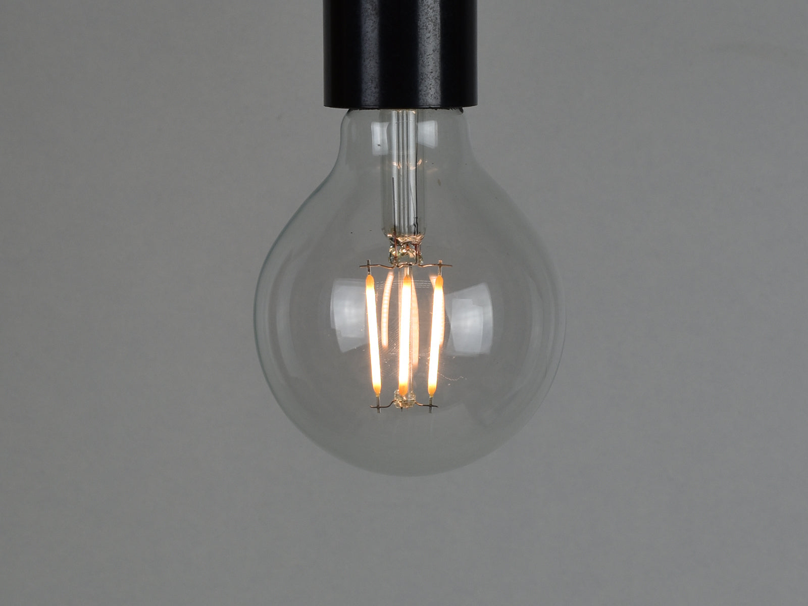 E27 LED Filament Bulb | G80 | Clear - Vendimia Lighting Co.