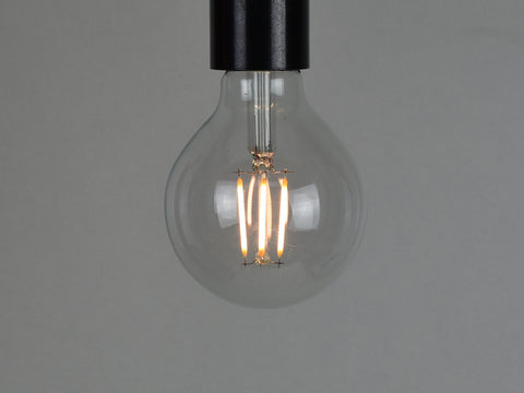 B22 LED Filament Bulb | G80 | Clear - Vendimia Lighting Co.