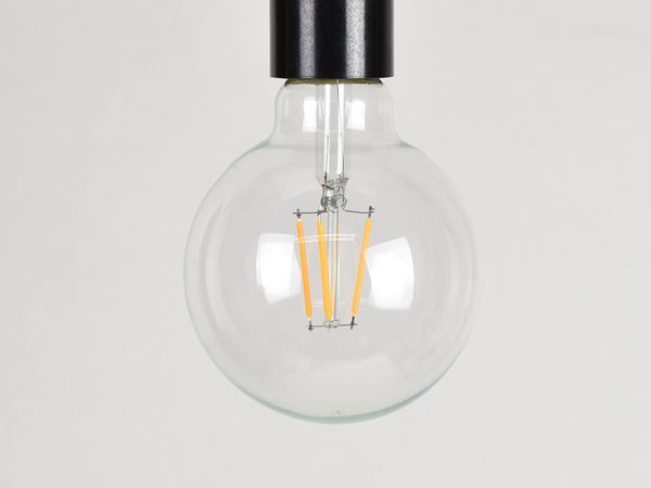 E27 LED Filament Bulb | G95 | Clear - Vendimia Lighting Co.