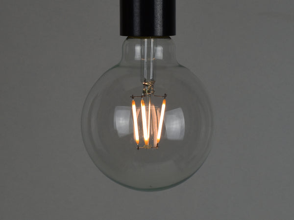 B22 LED Filament Bulb | G95 | Clear - Vendimia Lighting Co.