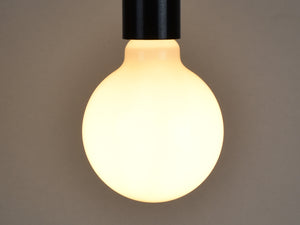 B22 LED Filament Bulb | G95 | Milky - Vendimia Lighting Co.