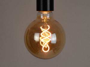 B22 LED Filament Bulb | G95 | Spiral - Vendimia Lighting Co.