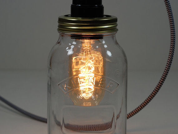 Desk Lamp | Kilner Jar - Vendimia Lighting Co.