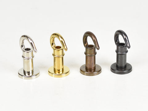 Brass Ceiling Hooks | Various finishes - Vendimia Lighting Co.