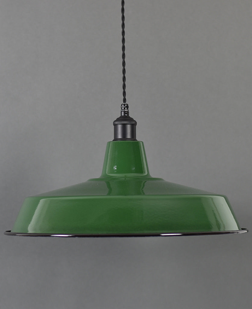 Ceiling Pendant | XL Industrial | Classic Green - Vendimia Lighting Co.