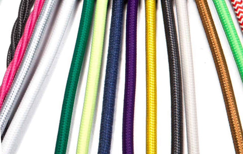 Fabric Cable | 3 Samples - Vendimia Lighting Co.