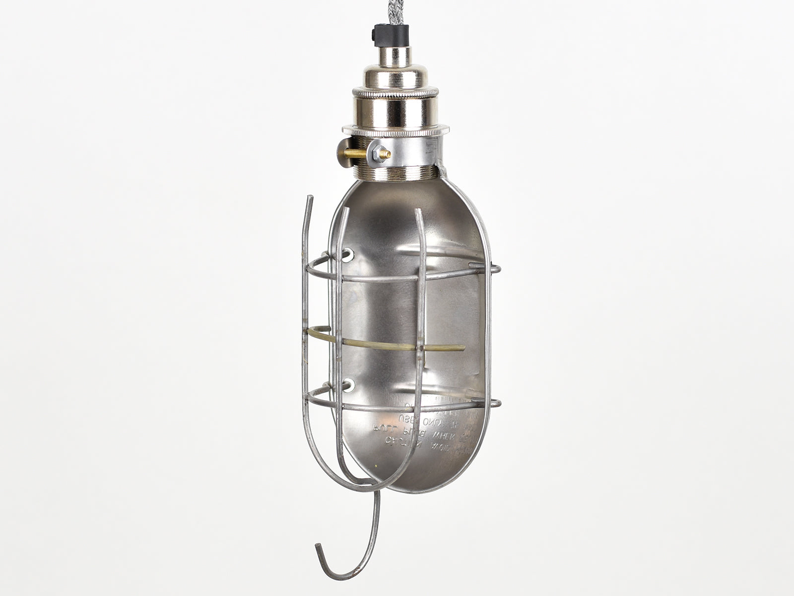 Cage Shade | Inspection Lamp | Gunmetal - Vendimia Lighting Co.