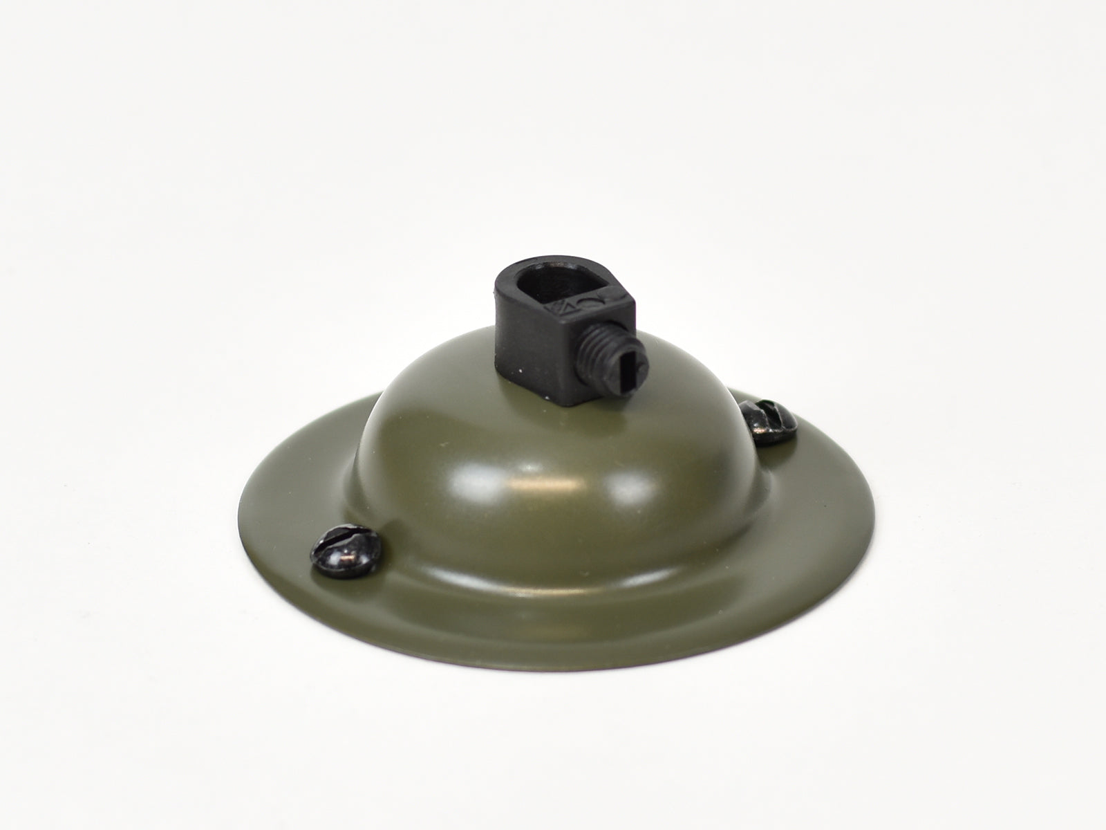Steel Ceiling Rose | Dome | Army Green - Vendimia Lighting Co.