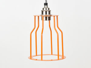 Cage Shade | Bottleneck | Burnt Orange - Vendimia Lighting Co.