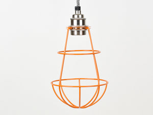 Cage Shade | Teardrop | Burnt Orange - Vendimia Lighting Co.