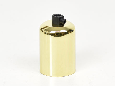 Brass Bulb Holder | Domed | Brass - Vendimia Lighting Co.