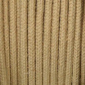 Fabric Cable | Round | Vintage Rope - Vendimia Lighting Co.