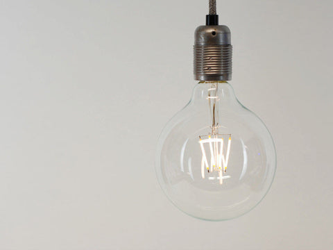 LED Vintage Filament Bulb | G125 | Squirrel Cage - Vendimia Lighting Co.