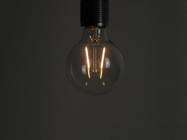 LED Vintage Filament Bulb | G80 | Squirrel Cage - Vendimia Lighting Co.