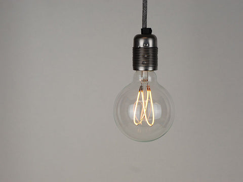 LED Vintage Filament Bulb | G95 | Double Loop - Vendimia Lighting Co.