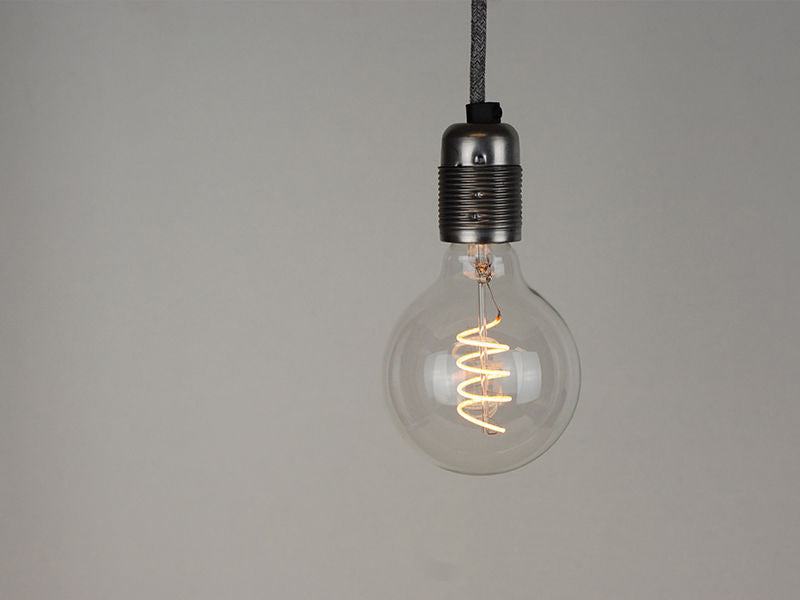 LED Vintage Filament Bulb | G95 | Spiral - Vendimia Lighting Co.