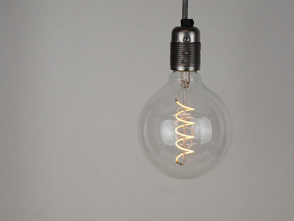LED Vintage Filament Bulb | G125 | Spiral - Vendimia Lighting Co.
